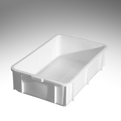 56 litre edge stacking crate