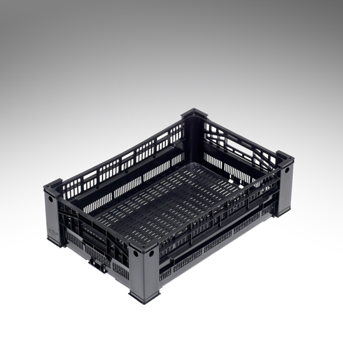 34 litre edge stacking crate
