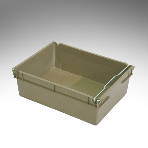 12 litre swingbar crate