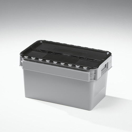 25 litre lidded crate