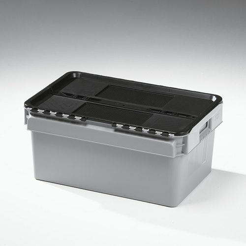 45 litre lidded crate