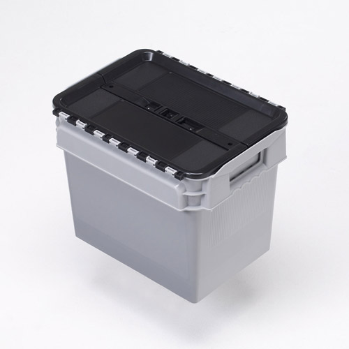 23 litre lidded crate
