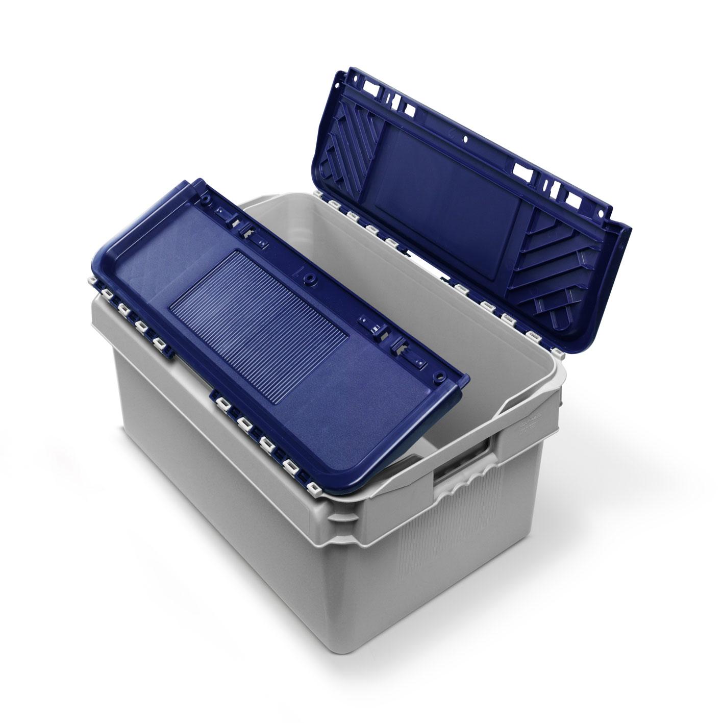 52 litre UN lidded crate - 2