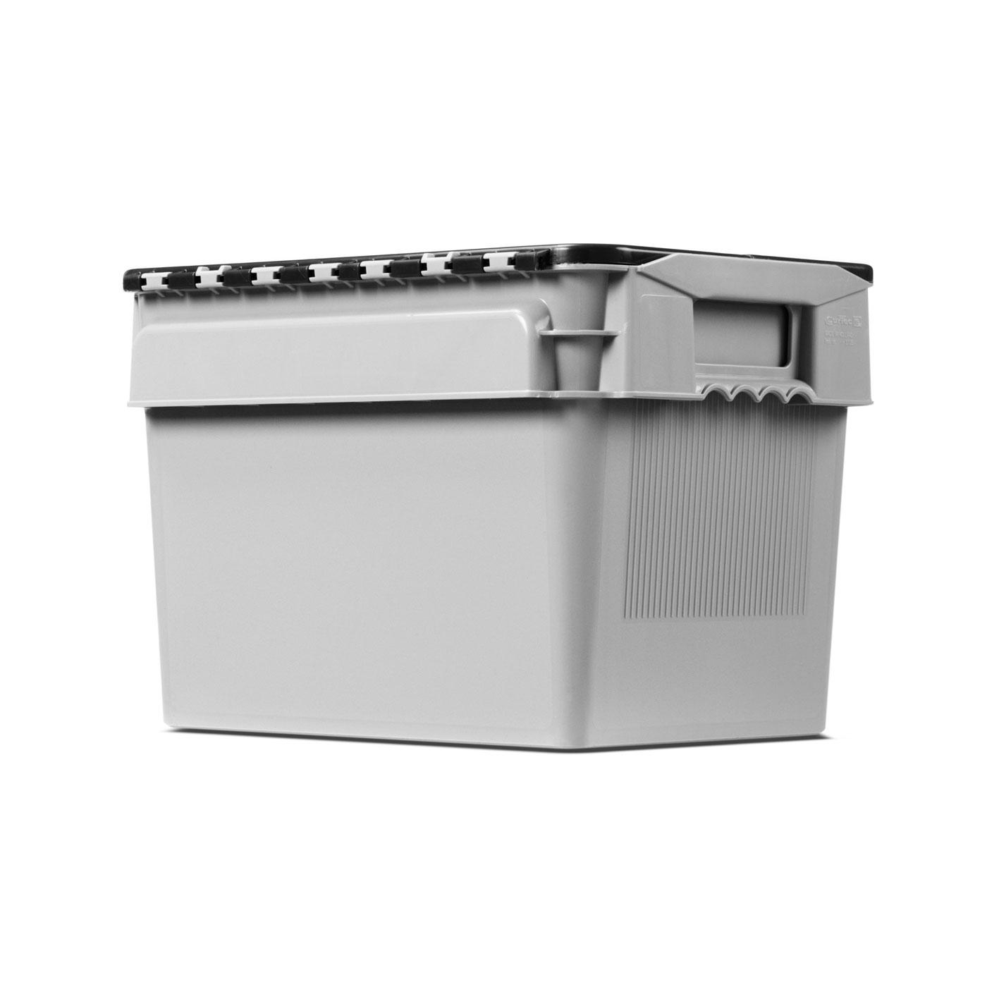 20 litre lidded crate
