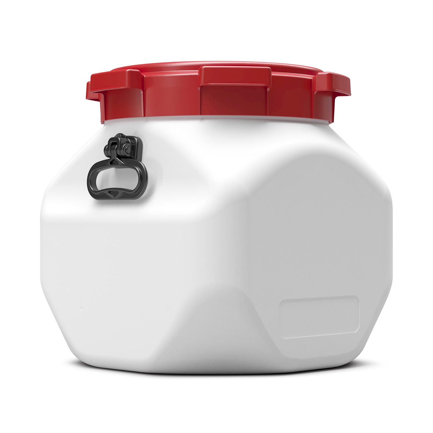 40 liter vierkant vat