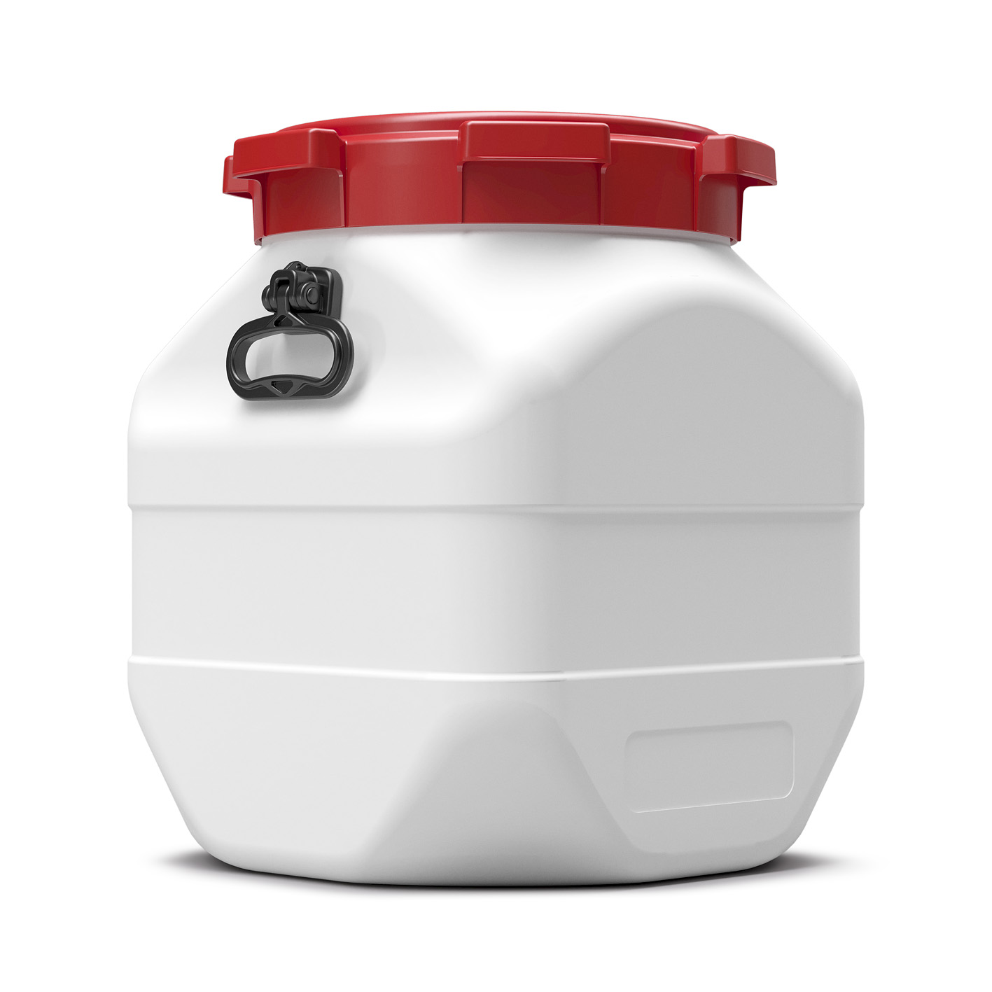 50 liter vierkant vat