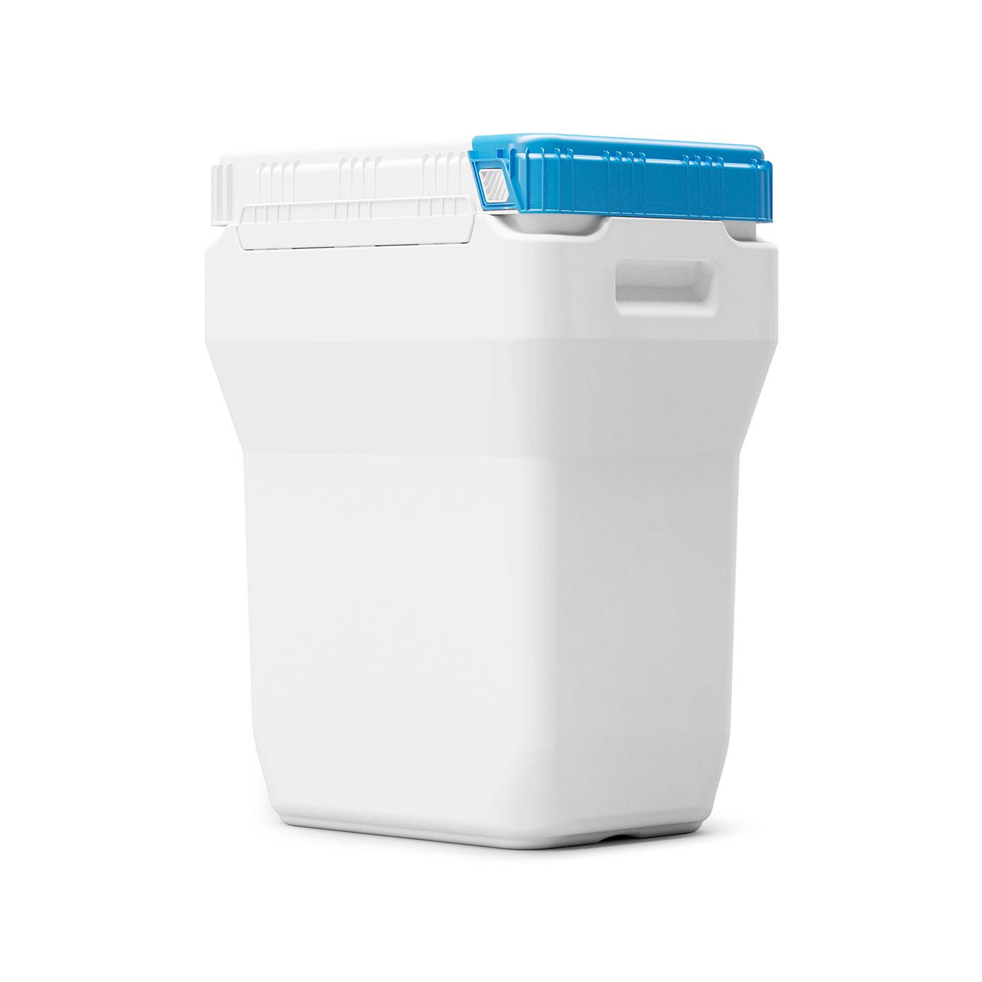 40 liter Rectangular Drum