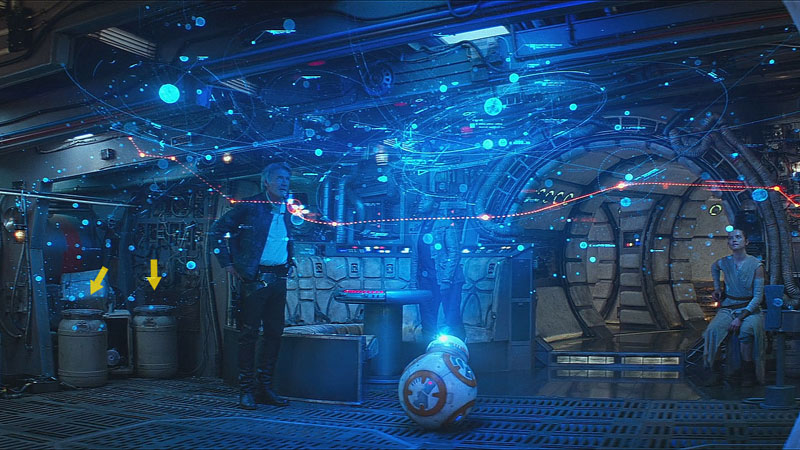 CurTec drums in The Force Awakens